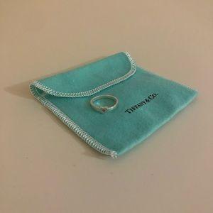 Tiffany Heart Sapphire Ring